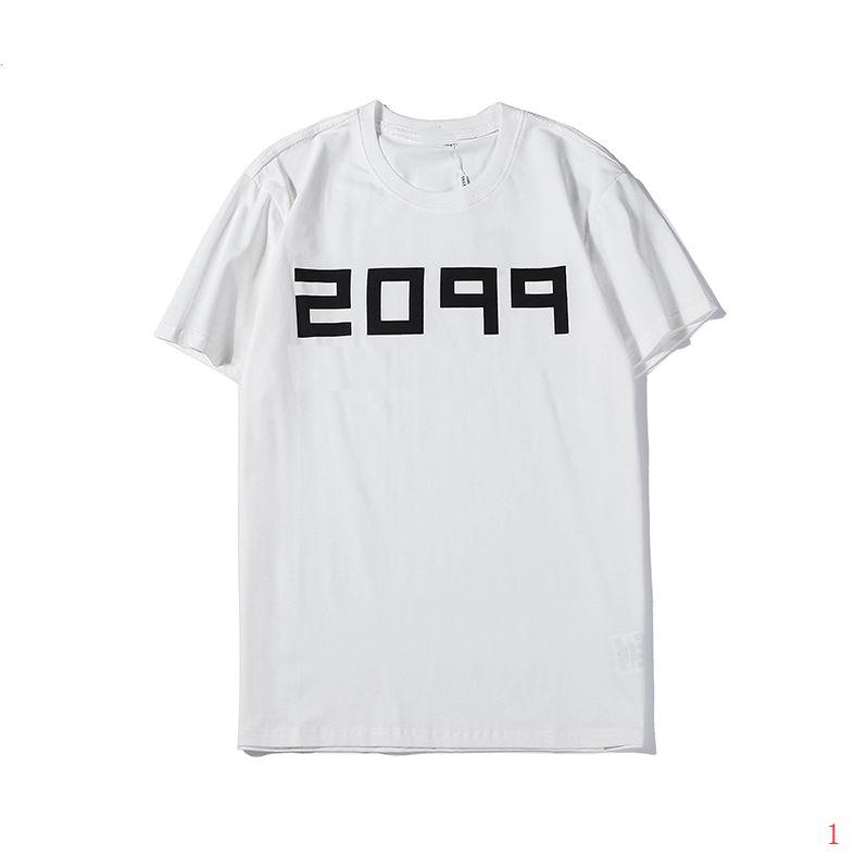 20ss neue Sommer-T-Shirts für Männer-Mode-Männer Tops Kurzarmhemd mit Buchstaben gedruckt Rundhalsausschnitt Tops Tees Kleidung M-3XL2