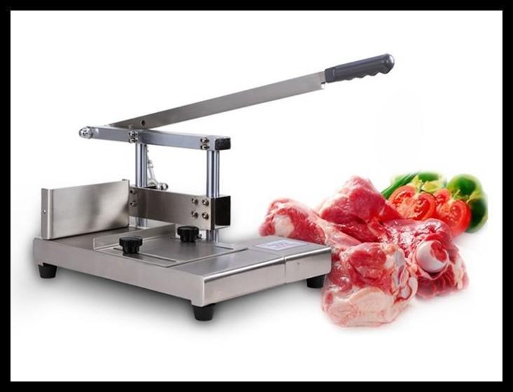 Knochensäge pig Rippen Guillotine-Schneidemaschinen geschnitten Kotelett Knochen Maschine manuell geschnitten Rippen Guillotine Knochenschneidemaschine