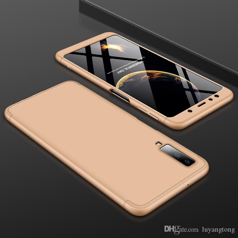 GalaxyA7 2018 Coque Protection Complète Ultra Mince Couverture Arrière Dur Pour Samsung A7 2018 A750 A750F Coque Téléphone Portable