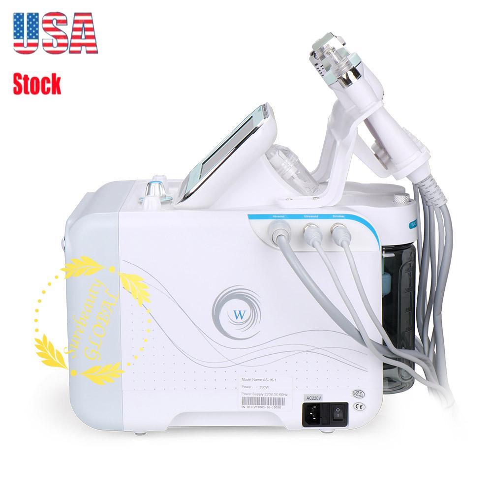 6 Dans 1 dermabrasion peau Lift Spa visage machine microdermabrasion machine visage eau Soins de la peau froide Nettoyage Tout type d'équipement de la peau