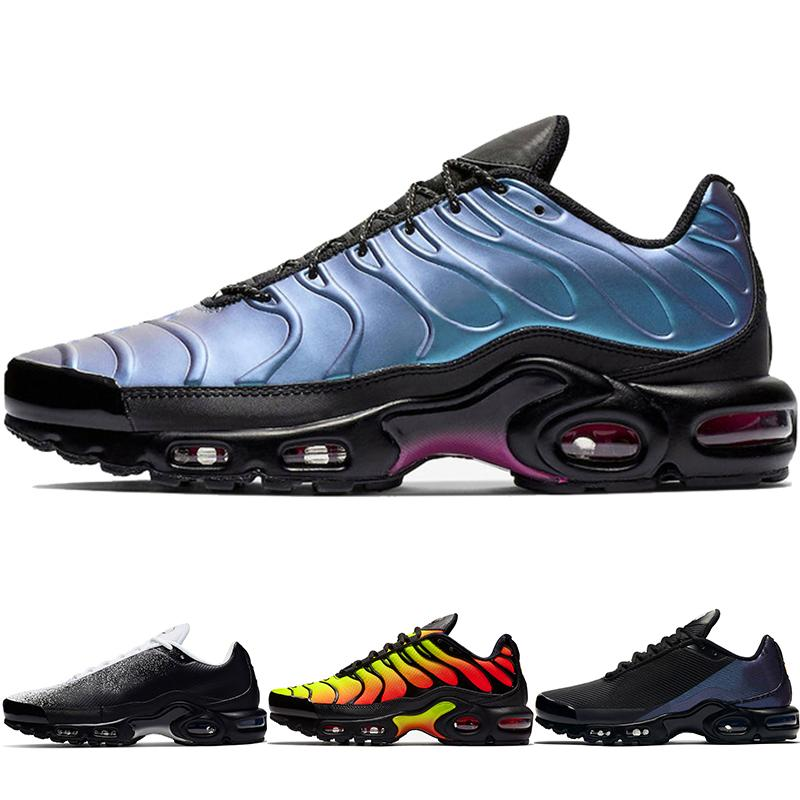 2020 New Mercuial TN Plus OG Ultra SE Pack Mens Running Shoes Male Greedy Sports Run Trainers Fashion Black White Women Sneakers CJ9697-001