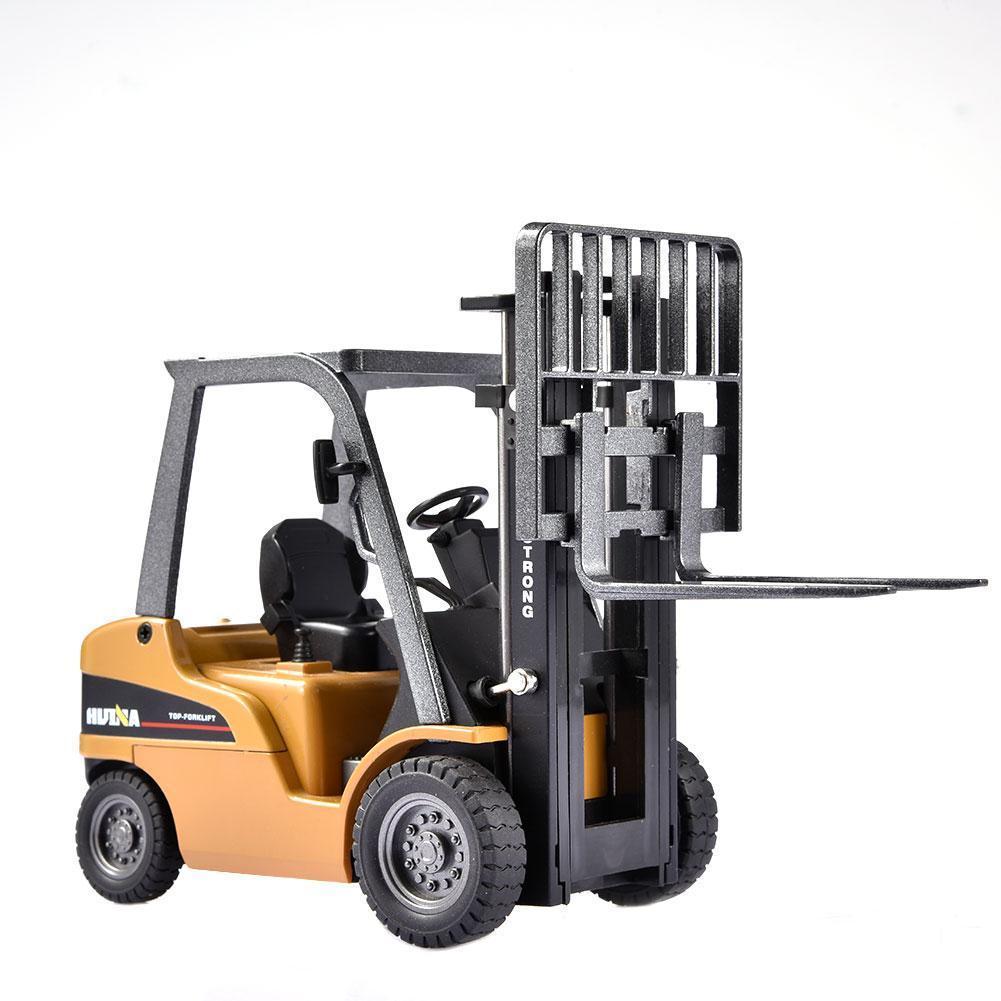 Metal Diecast Alloy Car modelo 01:50 Rolo Caminhões Veículos empilhadeira Toy Set Y200317