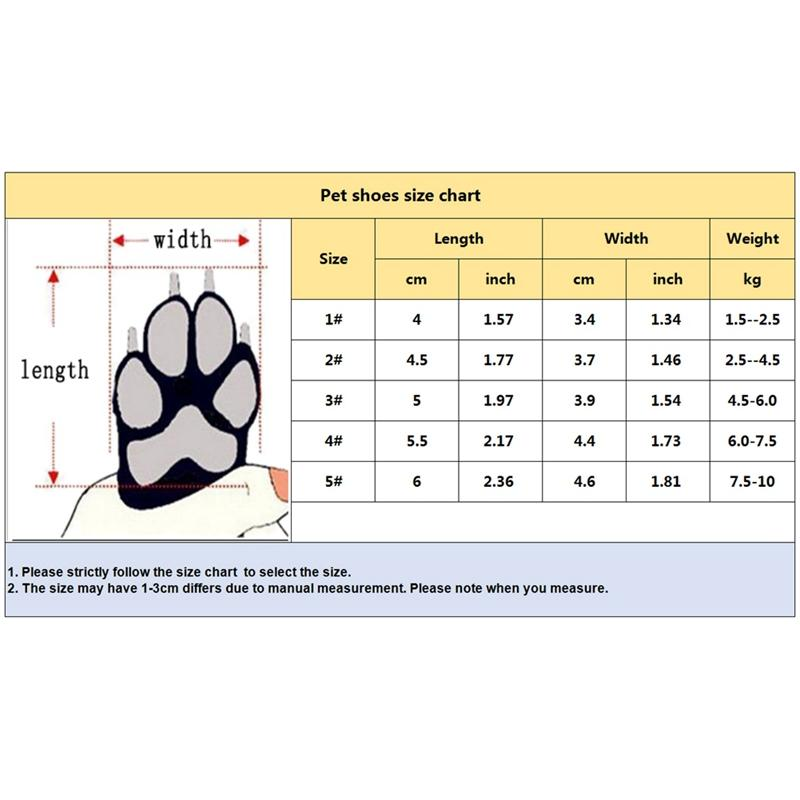 4 Pcs Dog Waterproof Shoes Sneakers Breathable Colors Puppy Winter Anti-slip Booties For Medium Large Dogs Zapatos Para Perro