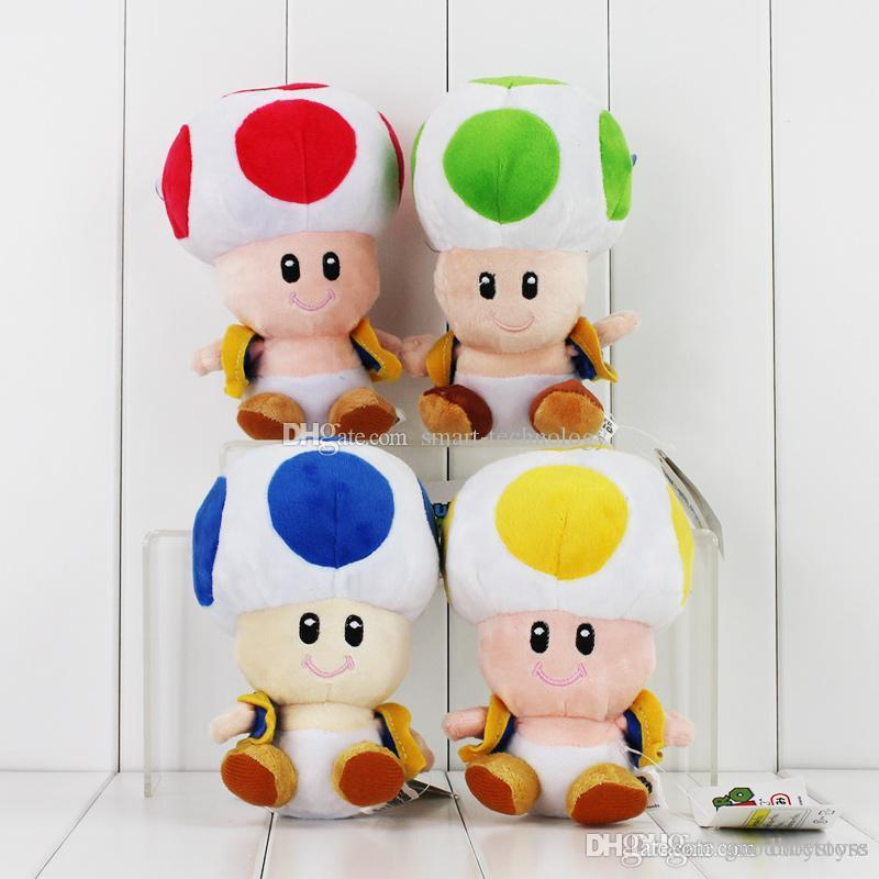 2020 Good Super Mario Brothers Mushroom Plush Toad Plush Toy
