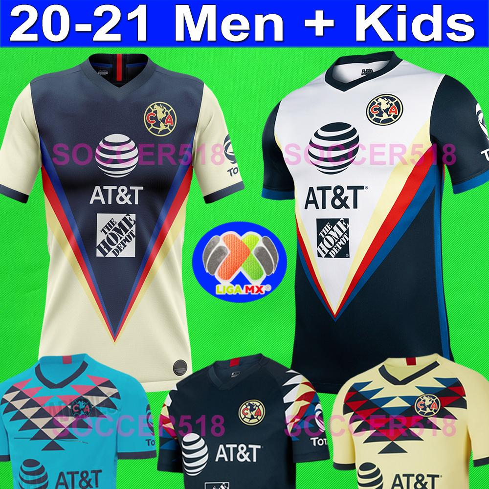 2020 2021 LIGA MX Club America Soccer Jerseys UNAM Guadalajara de Chivas 2019 20 soccer kits mexico Football tshirts soccer jerseys uniforms