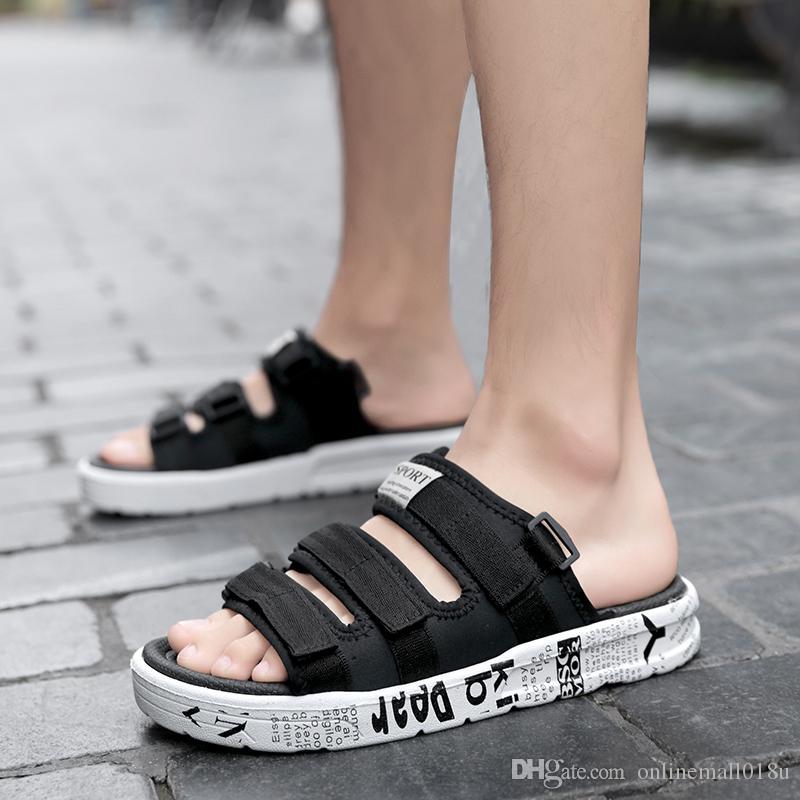 Men Sandals Summer Beach Shoes Flat