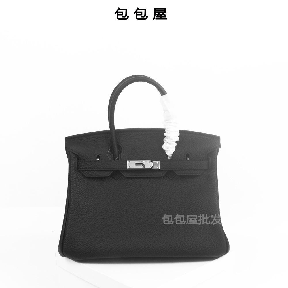 Elegant2019 Sac En Cuir Véritable Bao Yin Boucle Baotou Couche De Peau De Vache Ma'am Sac À Main Guangzhou Femme Paquet
