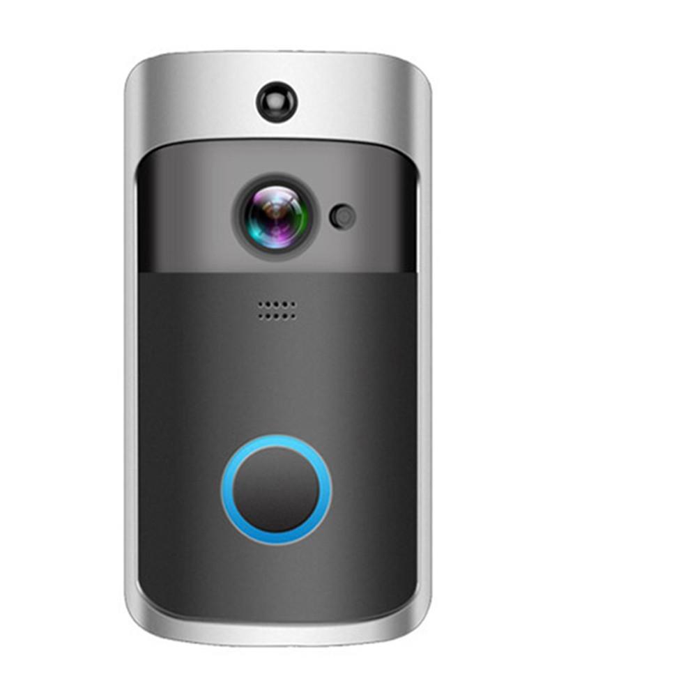 2020 - 새로운 HD 720P 무선 비디오 초인종 카메라 IR 나이트 비전 세 방향 오디오 배터리 작동 문 전화 인터콤