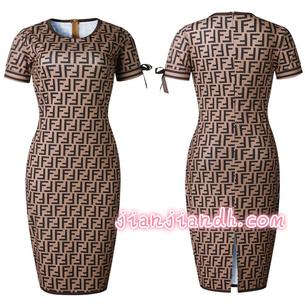 2019 señoras forman la nueva Europea y de gama alta de América del estilo popular vestido de la impresión digital de cercanías venta caliente skirt202011