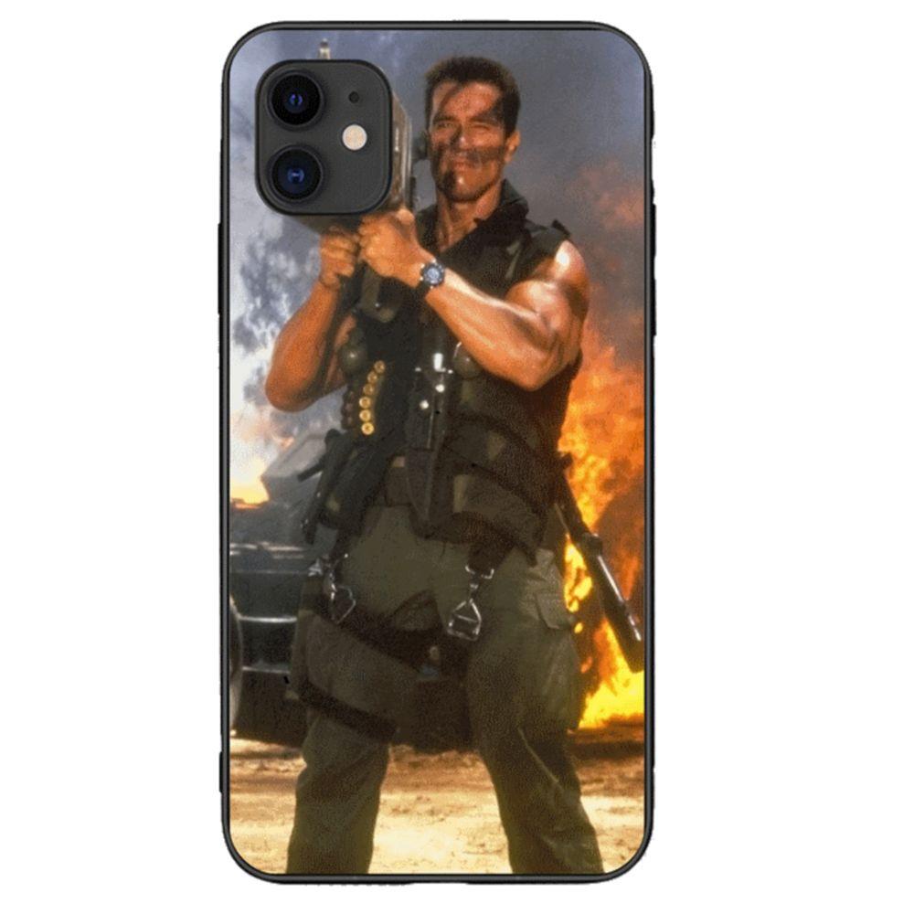 Pour IPhone 11 Pro Max Case Couverture Arnold Schwarzenegger Commando Rocket Launcher Proposé Par Buibao_tech, 1,68 € | Fr.Dhgate.Com