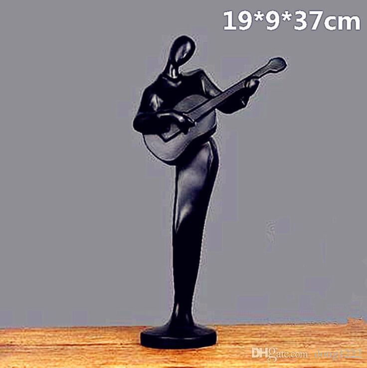 Düşünür Müzik Soyutlama Şekil Hayvan Colophony El Sanatları Ev Dekorasyon Merkezi Stil Yaratıcı Sanat Malzemesi L2720