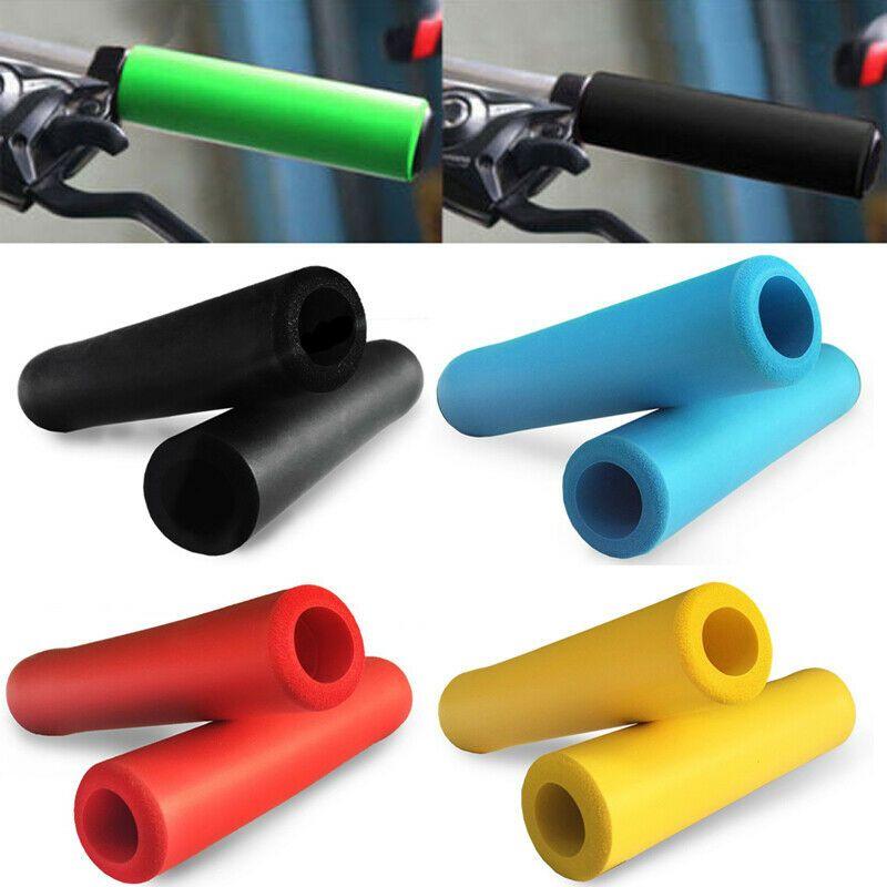 1pair soft foam sponge bike cycle bicycle handle handlebar bar grips