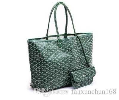 جوياررد هوت أفضل مبيعا أزياء عالية الجودة باريس هوت بيعجلدي أصيل غوي سانت لو بي إم غرين قماش مغطى بالأخضر توت توتس متوسط