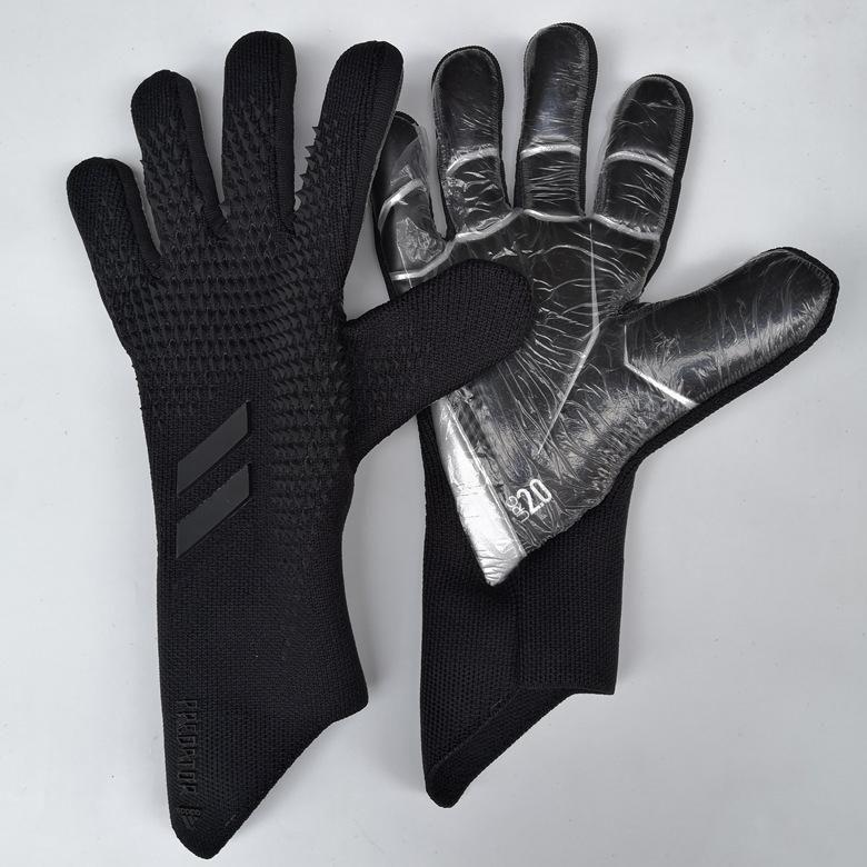 Professionale bambini Mens Guanti Portiere lattice spesso di calcio senza Finger Protezione Keeper guanti portiere di addestramento Guanti