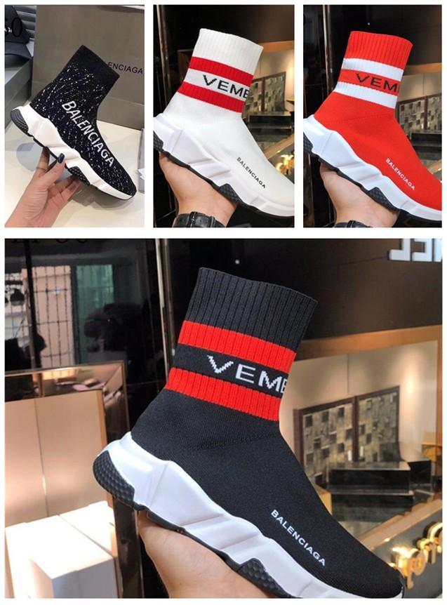 حذاء عرضي بنين وبنات أحذية الرياضة أحذية روك مغني قماش أعلى عال الرياضة الأسود أحذية رياضية للجنسين نمط
