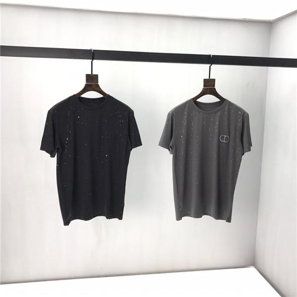 20ss горячая весна и лето мужская дизайнерская роскошная одежда футболка хип-хоп футболка мода повседневная уличная футболка -367
