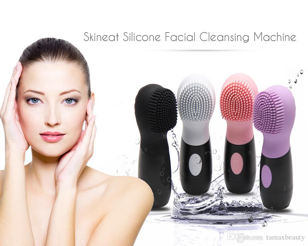 Facial Cleansing Brush Moreslan Silicone Cleansing Face Brush