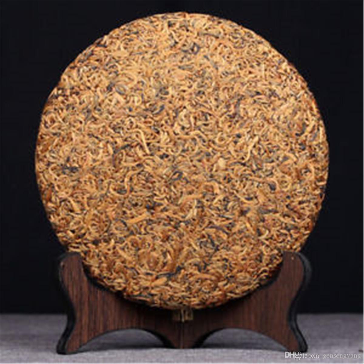 357g preto orgânico chá chinês Yunnan Ouro Buds Dianhong Chá Vermelho Health Care New Cozido Chá Verde Alimentos