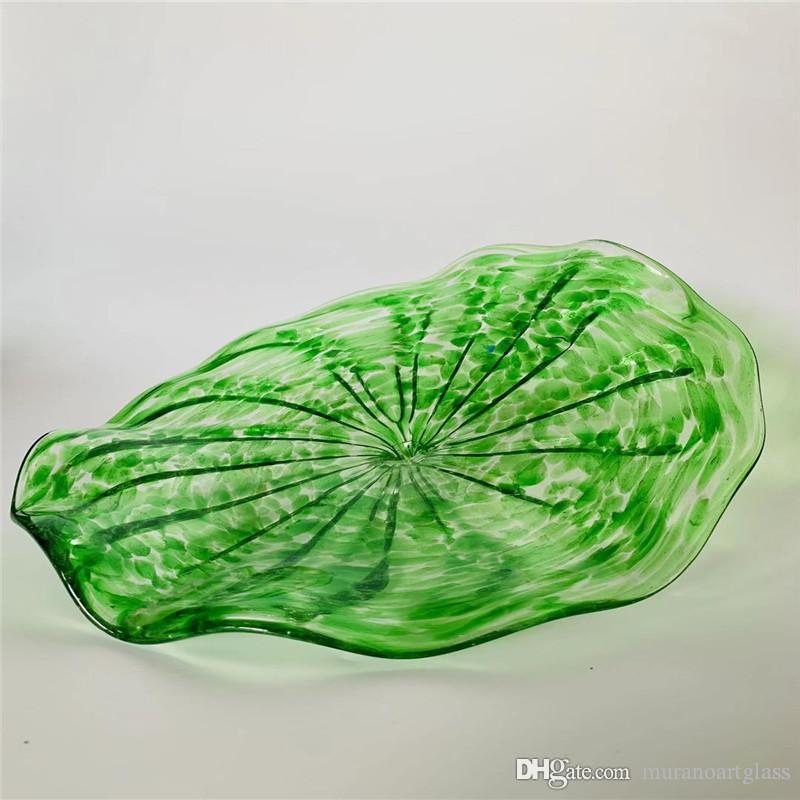 Soplado a mano las placas de vidrio para pared Deco Modern Art Deco placas de vidrio montada Estilo Tiffany Lámparas de pared personalizado pared de cristal