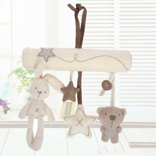 Baby Activity Spiral Crib Stroller Car Seat Travel Hanging Toys Rattles Gift US