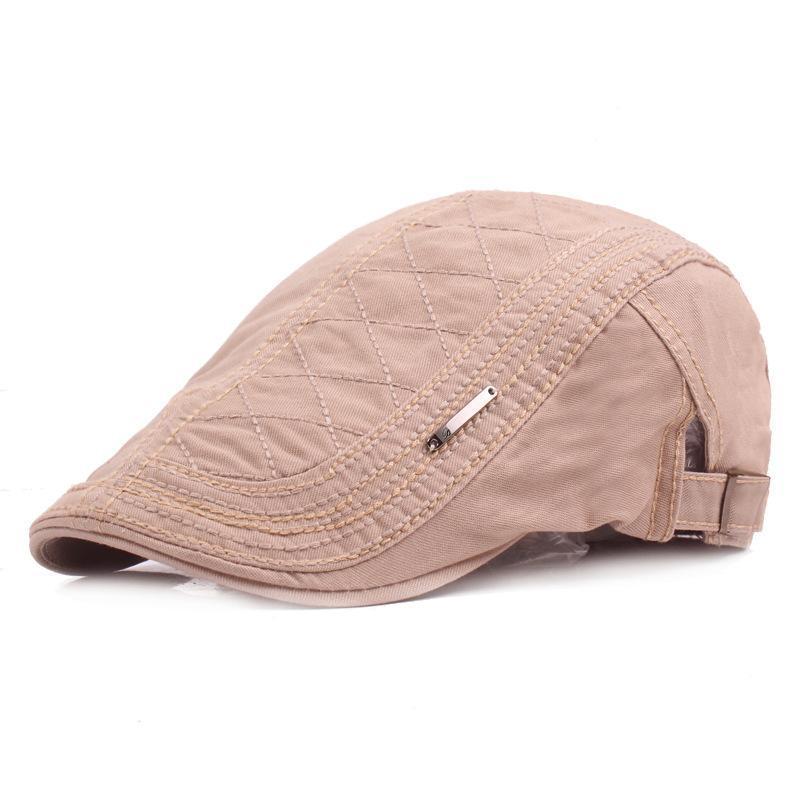 100% Cotton Men's Gatsby Cap Newsboy Ivy Hat Vintage Gorras Casquette Hats for Women Unisex Beret Cap Hat Mens Cabbie Hats
