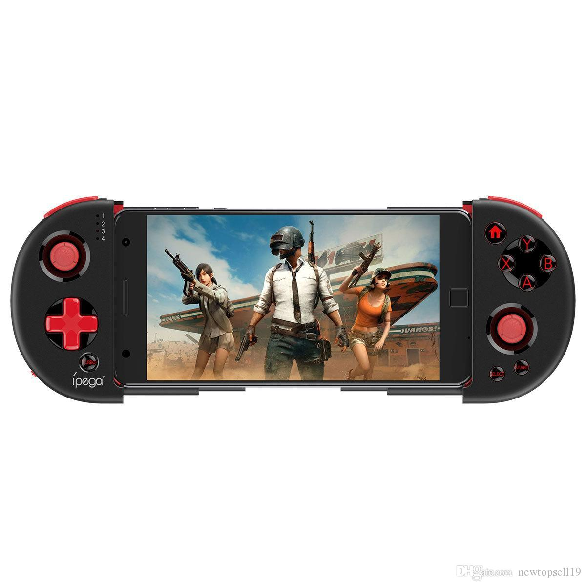 iPEGA PG-9087 Bluetooth Gamepad Red Knight Retractable Wireless Controller Extendable Arm Game Joystick For Android IOS Smartphone