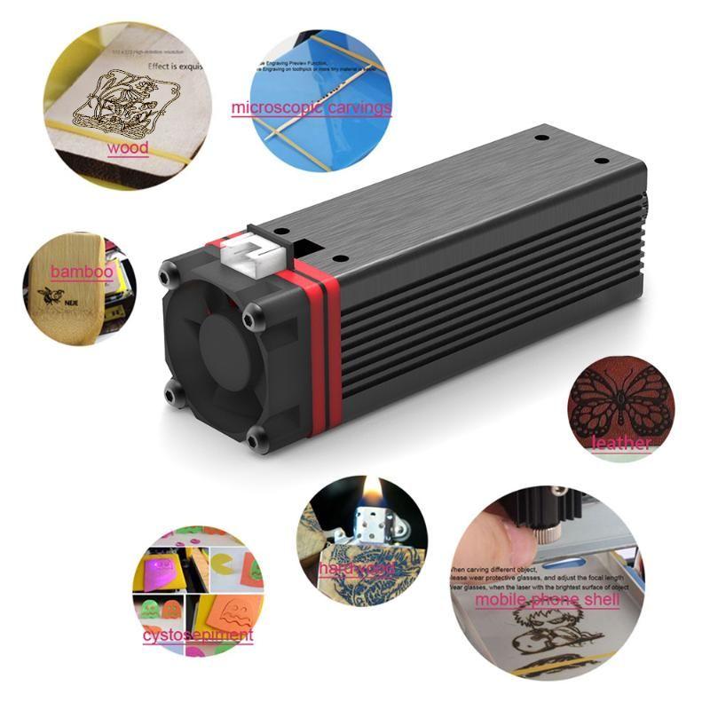 3500mW 405nm Luz Violeta Cabeça de Laser para Master Series DIY Carving a laser máquina de gravura gravador Acessório gravador Module