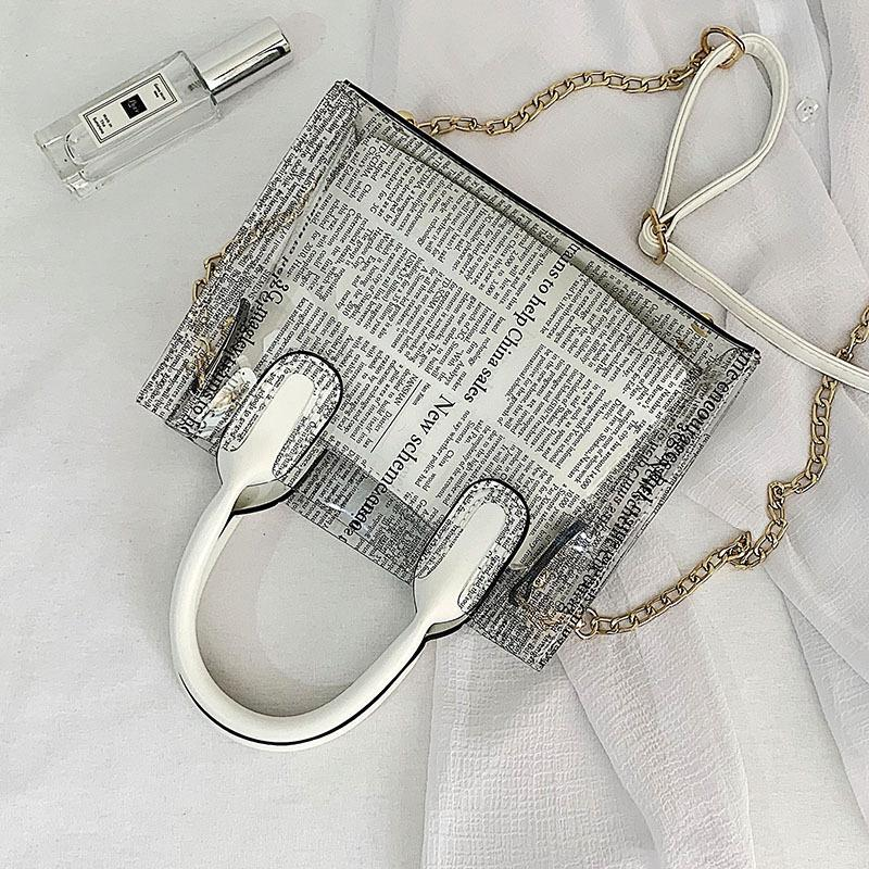 Estate Trasparente Jelly Tote Bag Crossbody Borse per le donne 2019 Qualità borse Ladies Beach Cancella Shoulder Bag