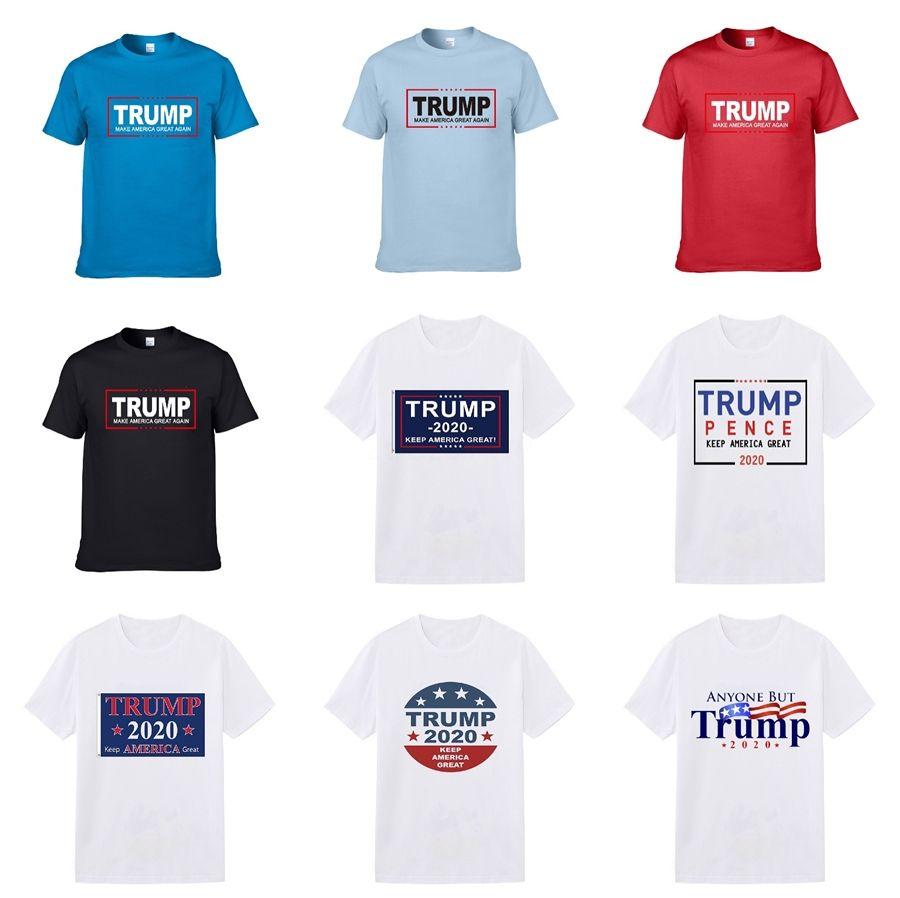 Clásica para hombre diseñador Trump Camisetas letra grande Aire Marca O-Cuello de las camisetas de baloncesto suéter de manga corta marca de moda casual blusas Deporte B10