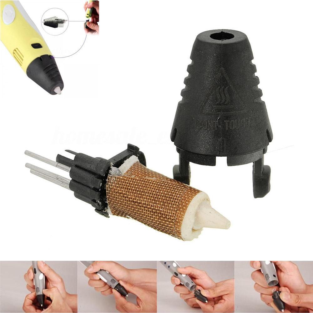 Boquilla de repuesto Extrusora cabezal de impresión para la primera segunda generación de impresión en 3D pluma Q99 Dja99 C19041901