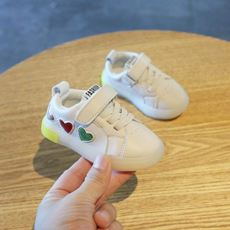 Baby Girl Soft Bottom Toddler Shoes 1-3 Years Old Baby Boy Casual Shoes Breathable Toddler Spring and Autumn
