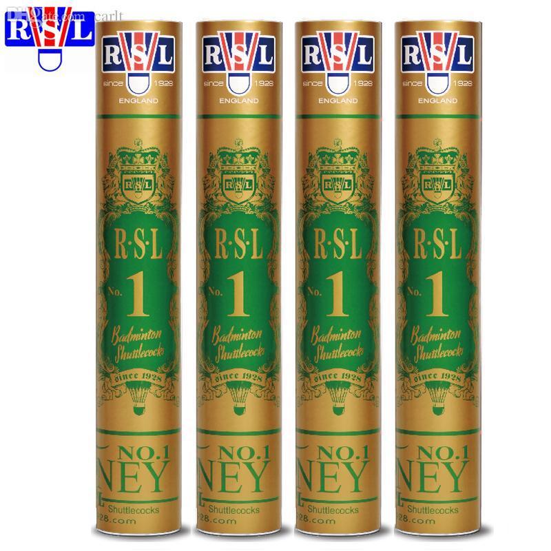 Peteca de badminton de RSL1 de atacado-Original RSL1 Peteca de pena / Melhor pena de pato de Cigu de grau superior de Durabilidade para torneio