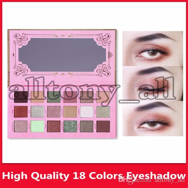 Hot UCANBE MARQUE RÉCENTS Sortilège 18 palette de fard à paupières mat lumière perle ombre à paupières de couleur de haute qualité