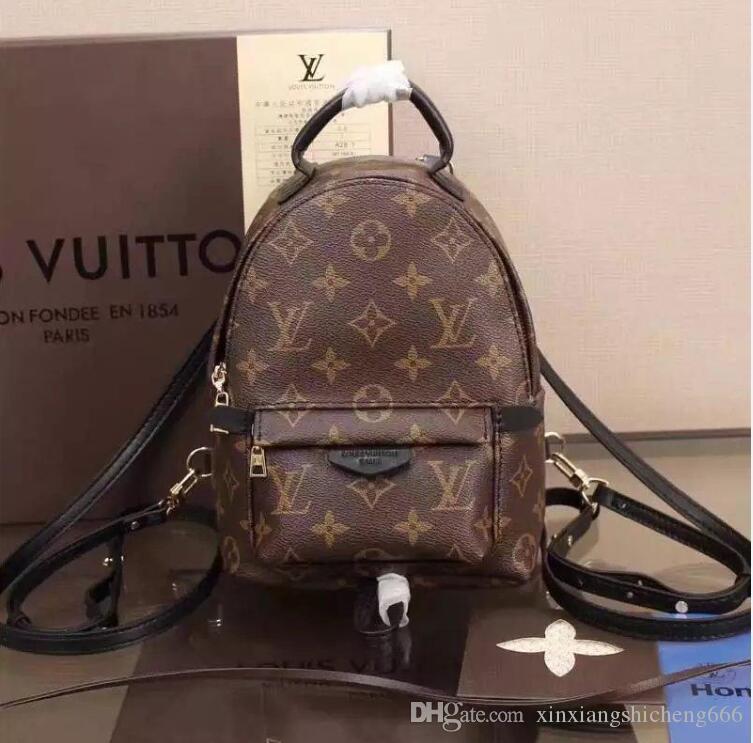 Высокое качество мода женская кожаная сумка рюкзак сумки дизайнерские сумки на ремне школьная сумка кошелек сумки Сумка L6688