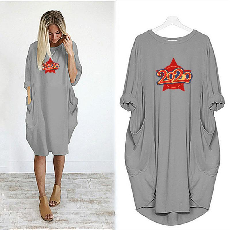 Womens Designer Dress Fashion Pattern
