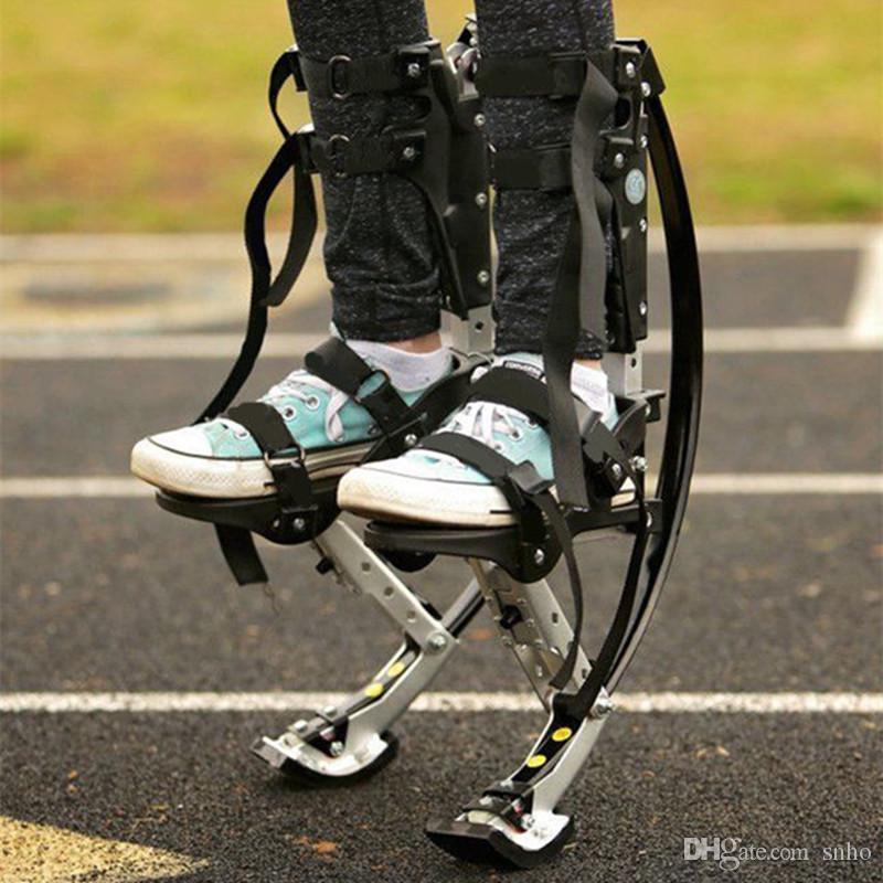 Children Kids Kangaroo Jump Shoes Jumping Stilts Exercise Parkour Fun Fitness 20-40KG