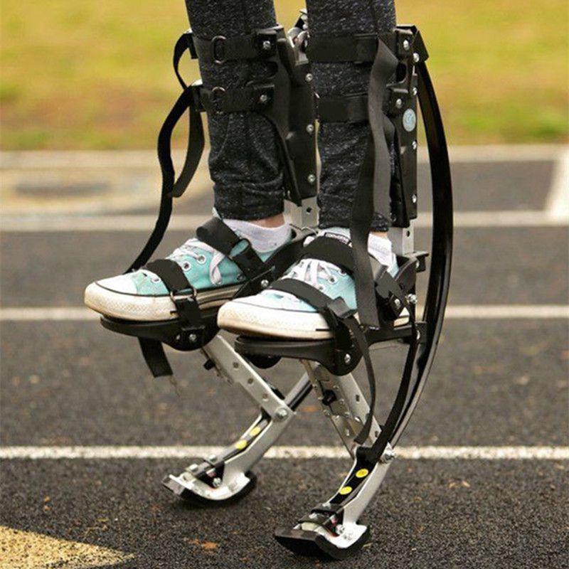 الأطفال الصغار الكنغر القفز أحذية القفز ركائز تمرين الباركور اللياقة البدنية 20-40KG