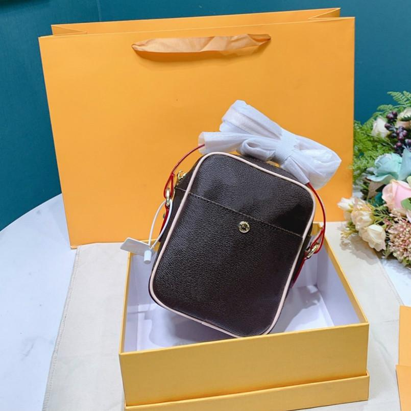 2020 Entwerfer-Qualitäts-Marken-Frauen-Kreuz-Körper-Taschen Vintage Shoulder Bag 2 Farben Messenger Bag Klassisches Totes