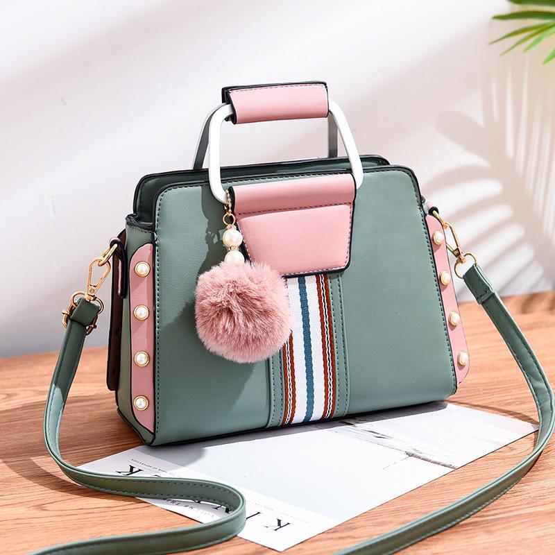 Yeni stil moda büyük kapasiteli kadın çanta omuz çantası