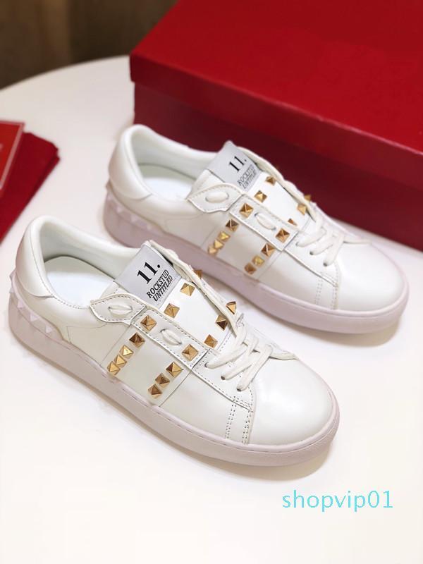 Lüks Tasarımcı Erkekler Kadınlar Sneaker Günlük Ayakkabılar İtalya Marka Stripes Ayakkabı Yürüyüş Spor Eğitmenler Chaussures yz19050302 L29