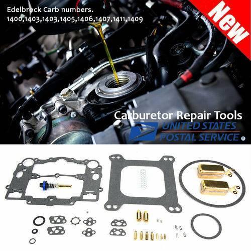 Edelbrock Carburetor Accessories Rebuild Kit Carb Repair Tools for 1409 1411