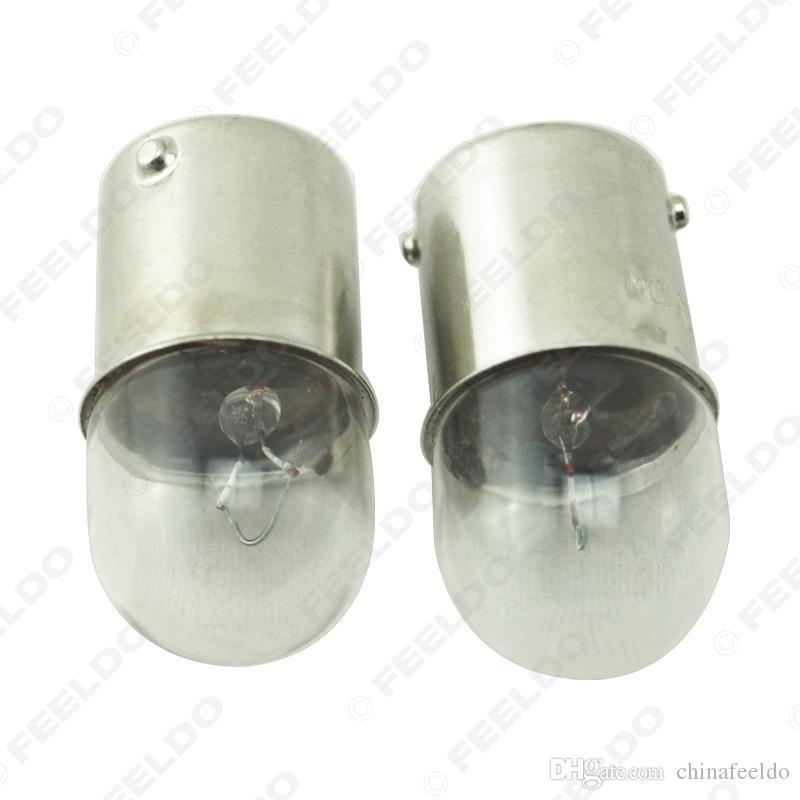 10pcs / caja de coches T1614 Luz T16 24V5W BA15S 1156 Camión de la Lámpara del bulbo de cristal darse la vuelta automática Indicador de lámpara halógena # 3163