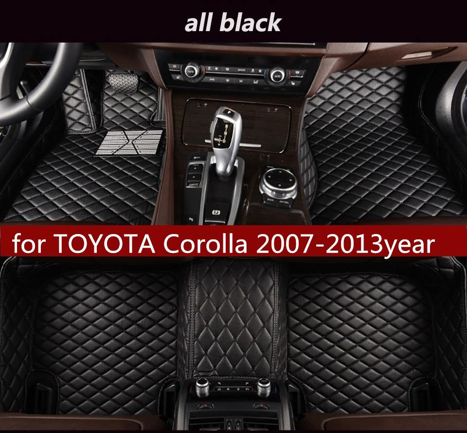 Suitable for TOYOTA Corolla 2007-2013year Non-slip Non-toxic Foot Pad Car Foot Pad