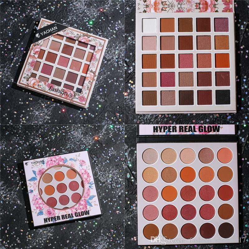 16 farben weinrot granny chic erde warm schimmern matt pigmente lidschatten pulver palette nude kosmetik
