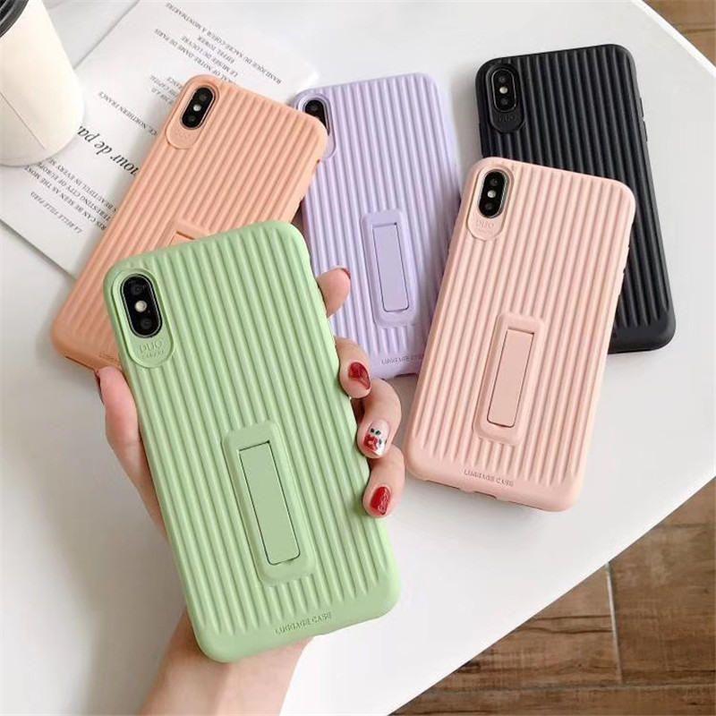 New Silicone Phone Case Gel de borracha macia Capa de Almofada dos doces capa para Telefone 11Pro X XS Max XR 7 8 6 6S Além disso,