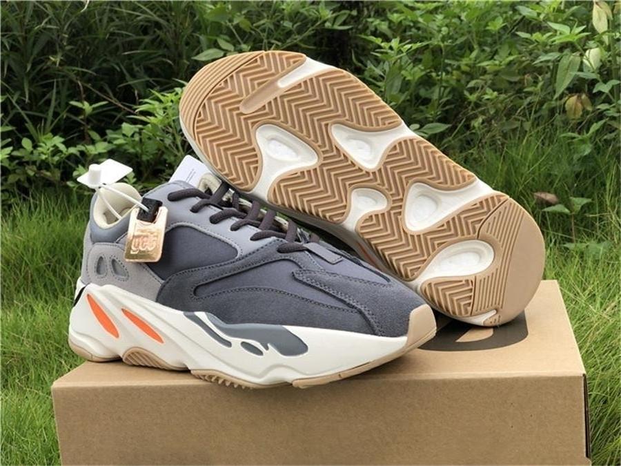 700 Mıknatıs Fv9923 Dalga Runner Kanye West Kutusu ile Yansıtıcı 3m Erkekler Kadınlar Teal Blue İçin Otantik Sneakers Ayakkabı Koşu 5boost Originals