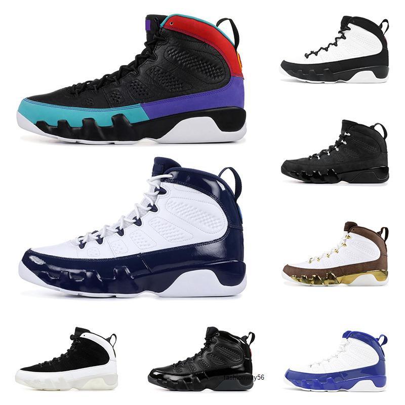 9 New DREAM IT 9S DO IT chaussures de basket-ball pour les hommes UNC space jam BRED CANARDS STATUE mens OREGON chaussures de sport de mode