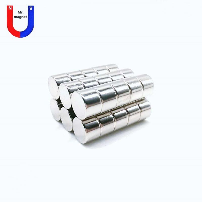 50pcs Hot sale 12*8 D12*8mm 12x8 D12x8mm 12*8mm 12x8mm 12mm*8mm rare earth neodymium magnets NdFeB N35 grade with Ni coating free shipping