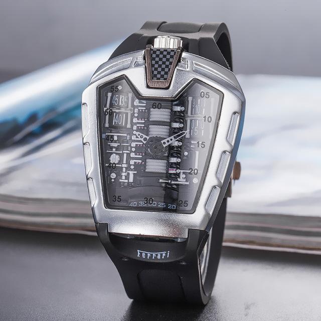 Quartz Relógio Men Automatic do 19SS # 1277: Homens Unique Style R de Richard Top Brand Watch Relógio