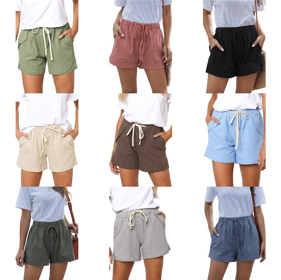 Abbigliamento Donna Sport metà di vita bicchierini sottili mimetico stampato Adolescente Pantaloni corti attivo Magro Maschile elastico in vita # 619